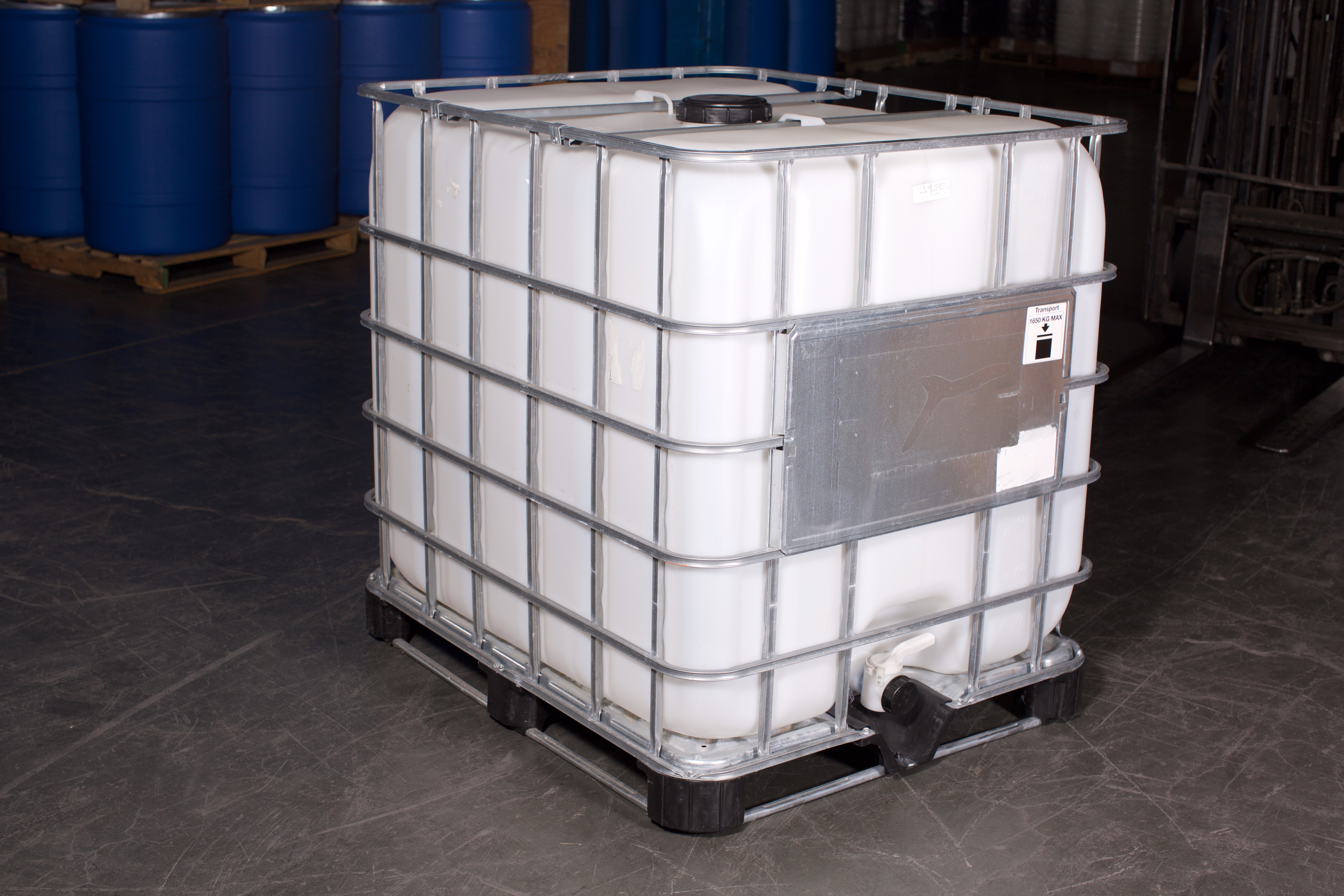 TOTE (IBC), HIGH DENSITY POLYETHYLENE, RECONDITIONED, 1000