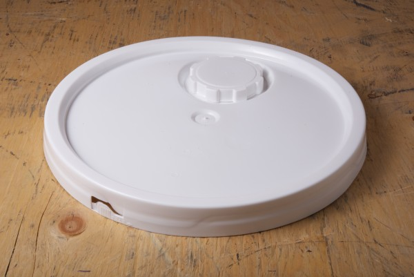 Plastic Cover Round White 70 Mm Tint Plug With Screw